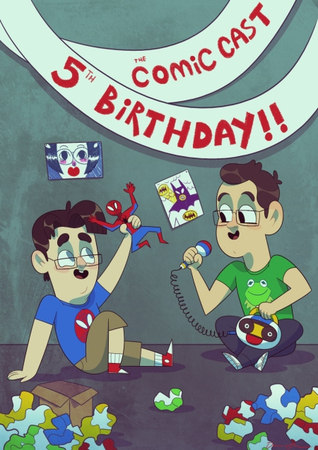 TheComicCast_5thBirthday